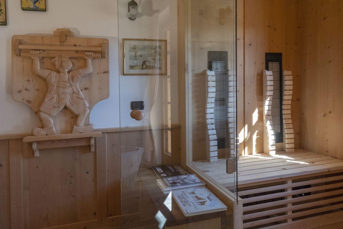 Sauna stanza del Gallo
