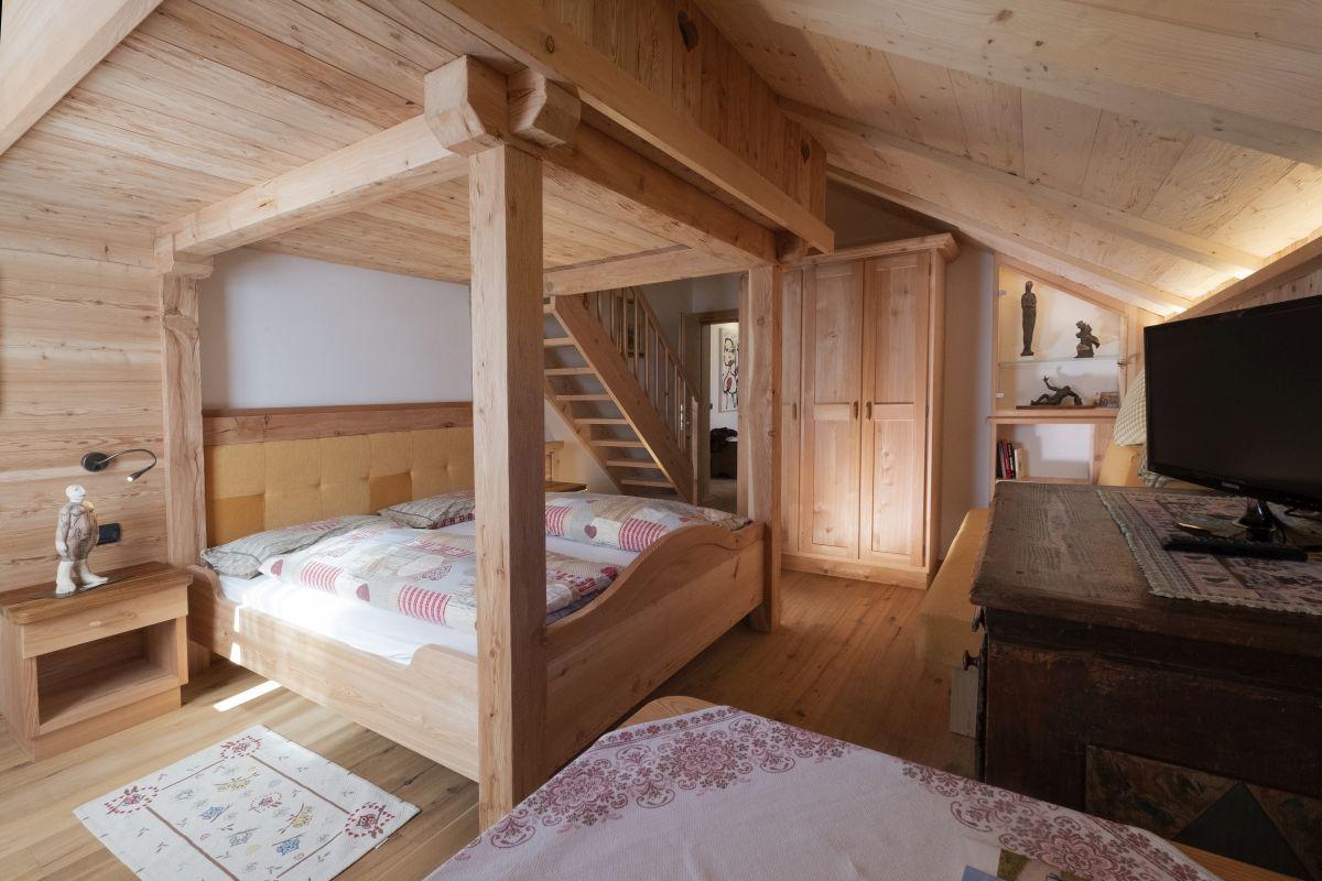 camera da letto Rifugio Fuciade